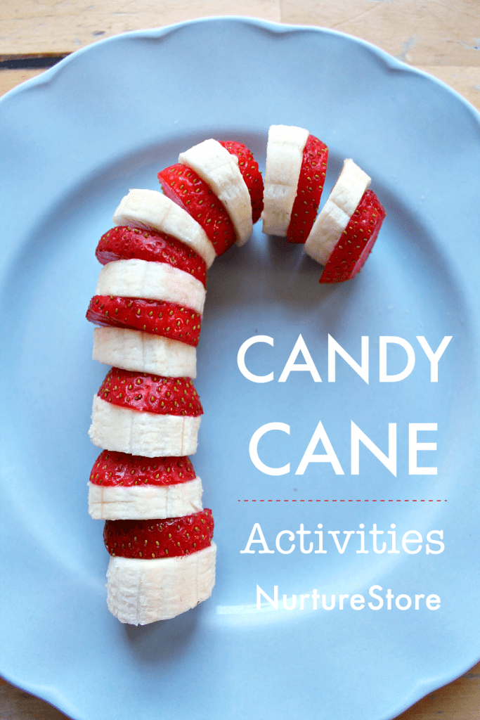 healthy christmas snack recipe candy cane food