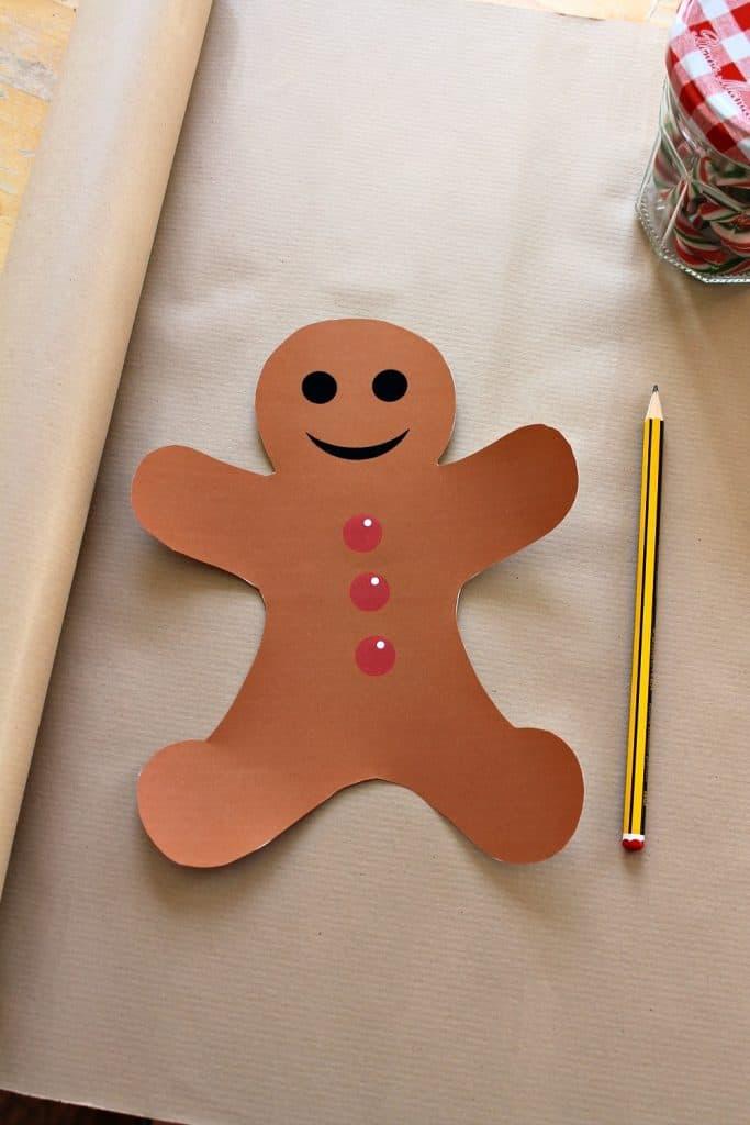 printable gingerbread man template