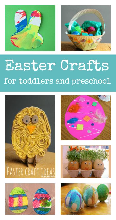 Super Cute Toddler Easter Crafts Nurturestore