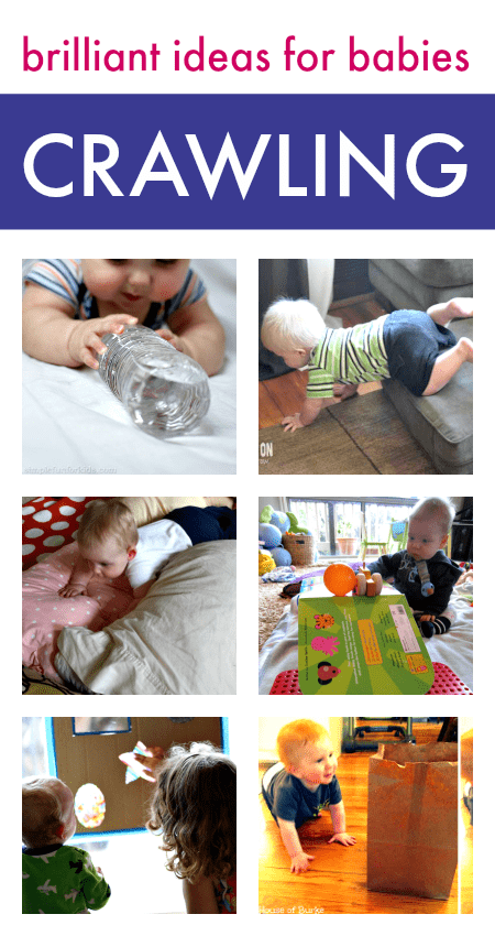 baby play ideas, ideas for crawlers, play ideas for babies who are crawling