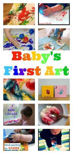 Brilliant Ideas For Baby S First Art Nurturestore