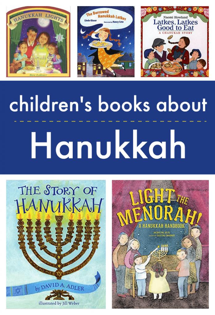 Children's books about Hanukkah