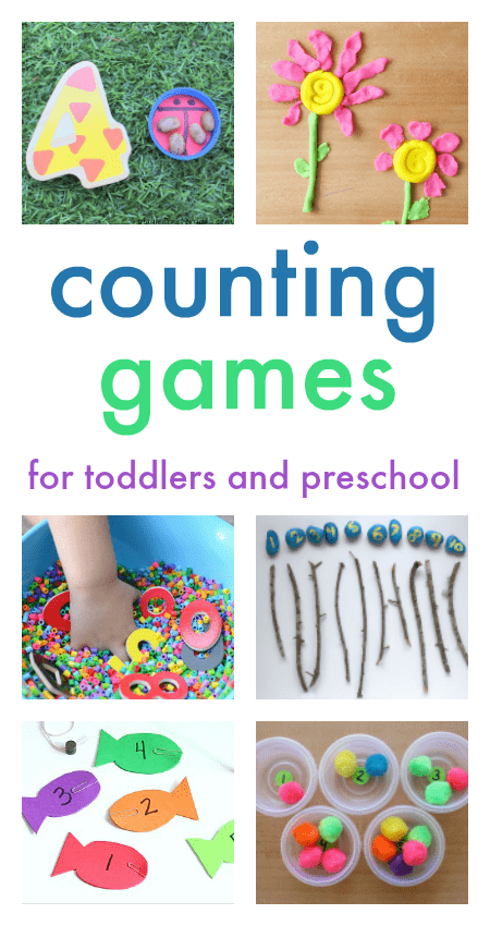 22 counting games for toddlers and preschool - NurtureStore