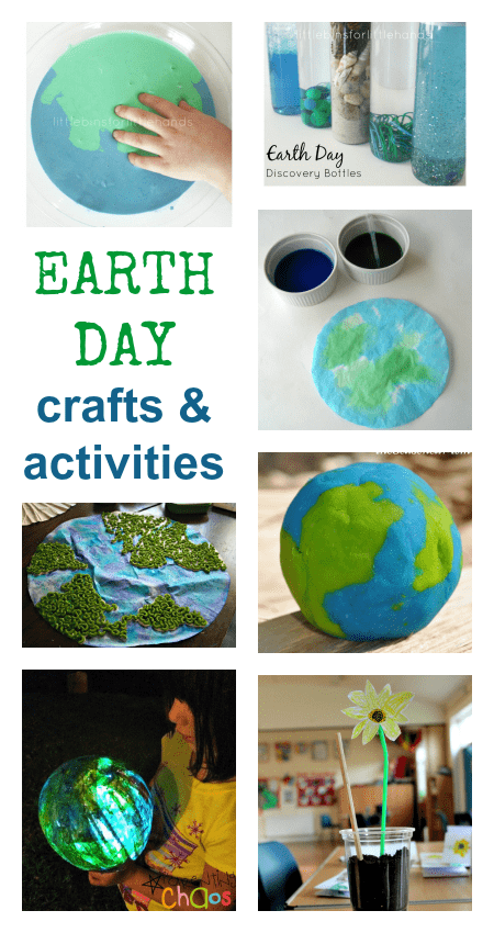 earth day activities for preschool, easy Earth Day crafts and activities