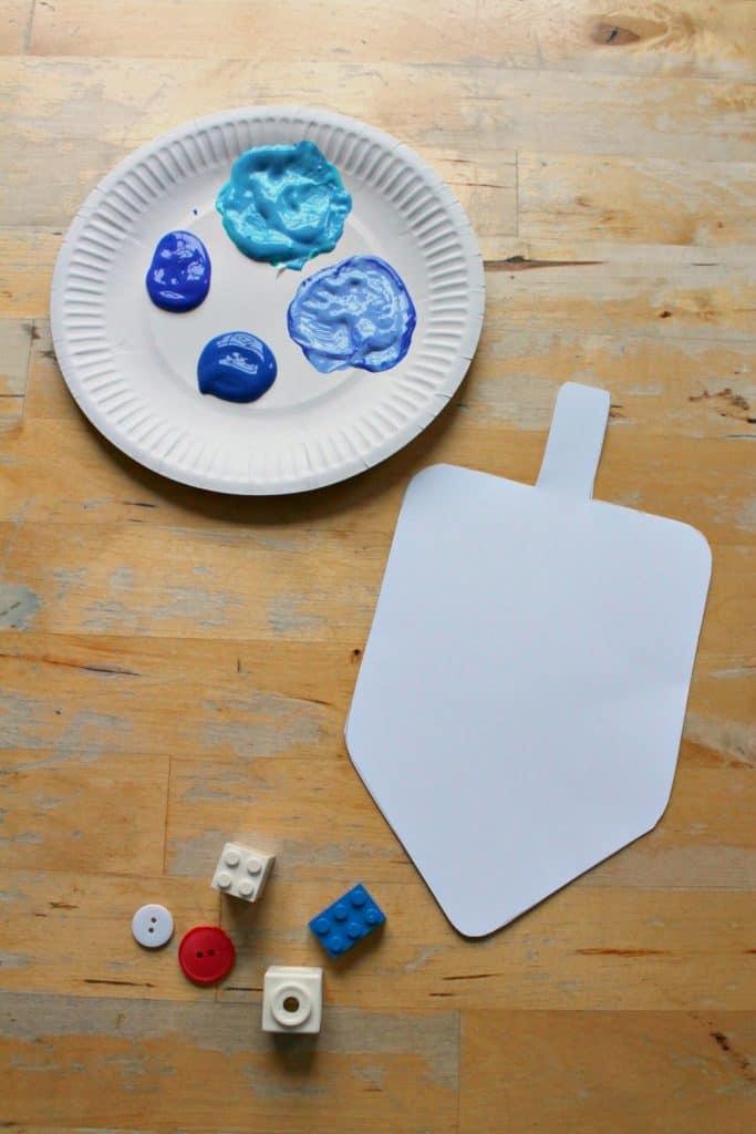 easy dreidel craft with printable template nurturestore