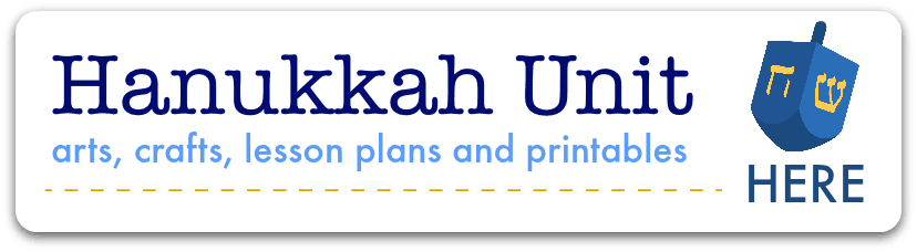 hanukkah activities and printables for children