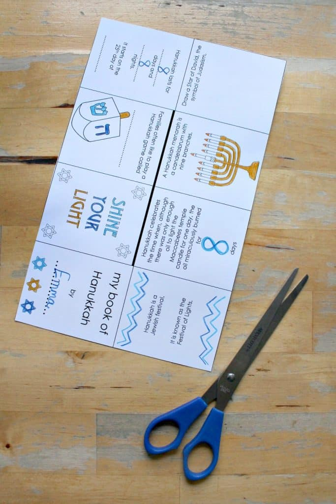 hanukkah printable sheets lesson plan