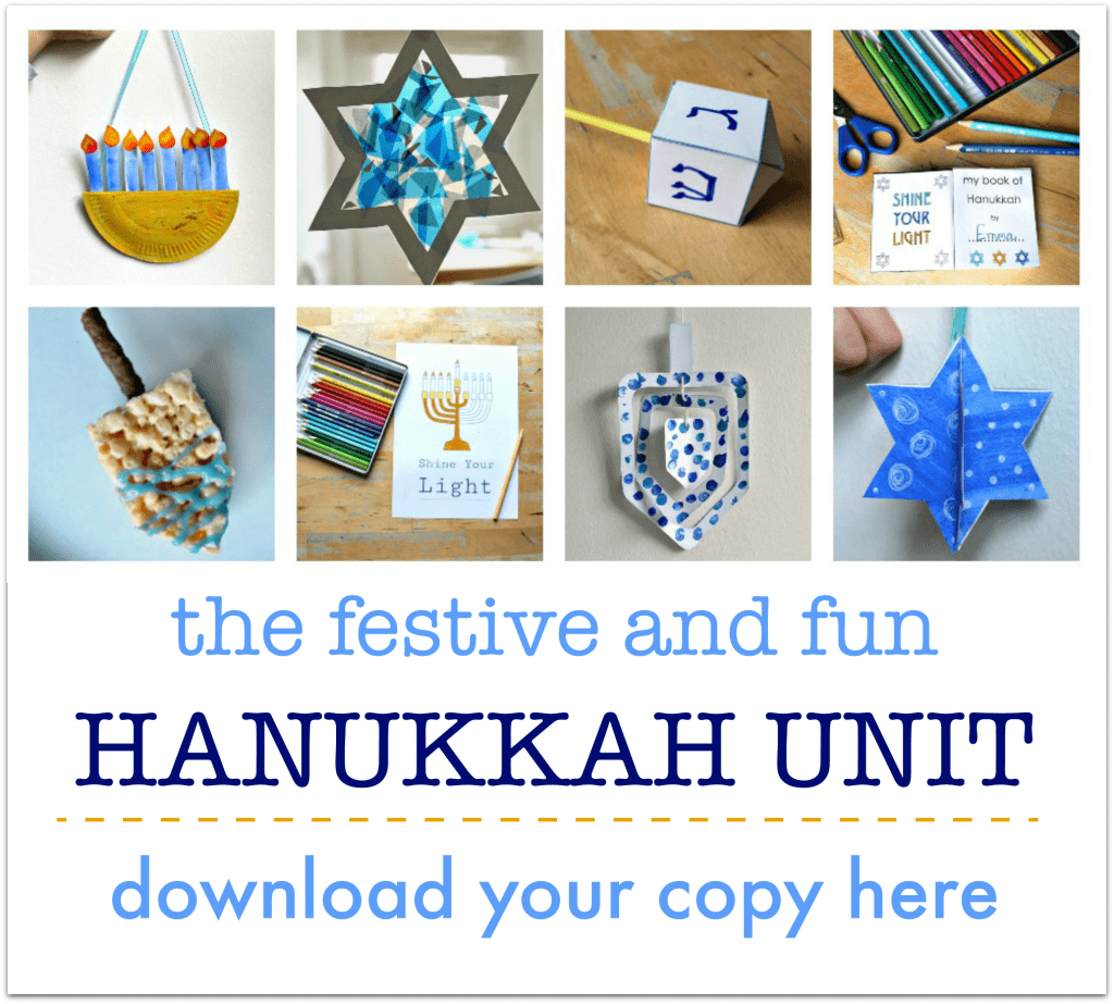 hanukkah printables for kids