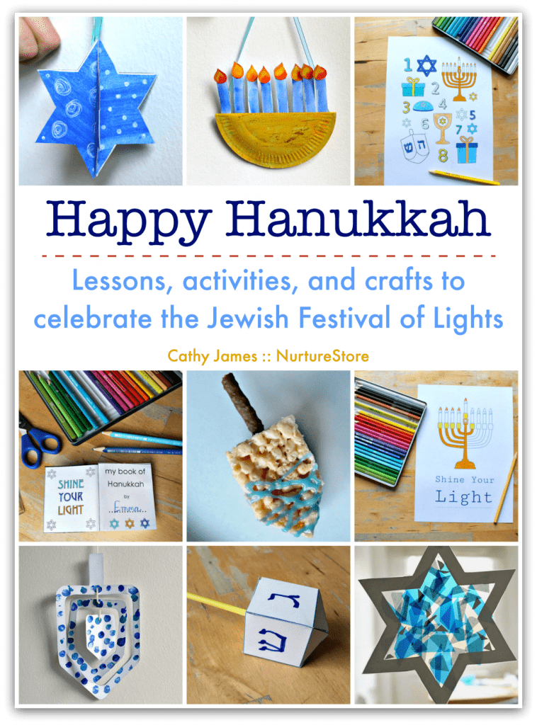 Leaning about Hanukkah unit, Hanukkah crafts, Hanukkah activities for children
