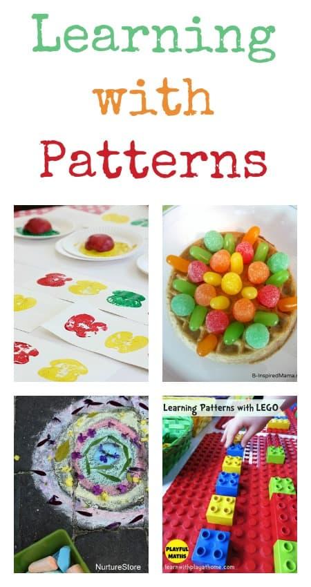 pattern activities for math, pattern activities for preschool