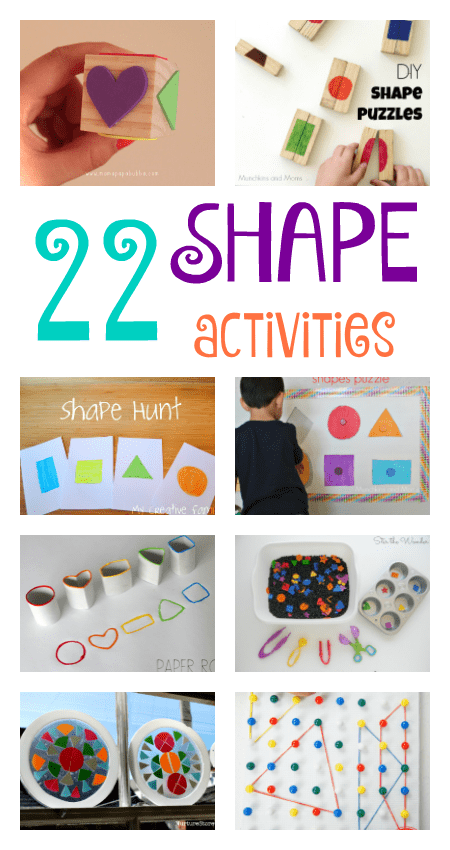 22 fun shape activities for toddlers and preschool ...