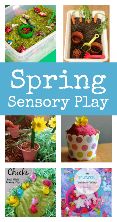 sensory play ideas for spring, toddler spring activities