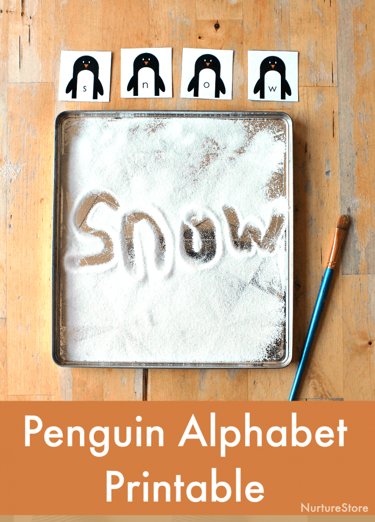 photo regarding Alphabet Games Printable identify Penguin alphabet online games - NurtureStore