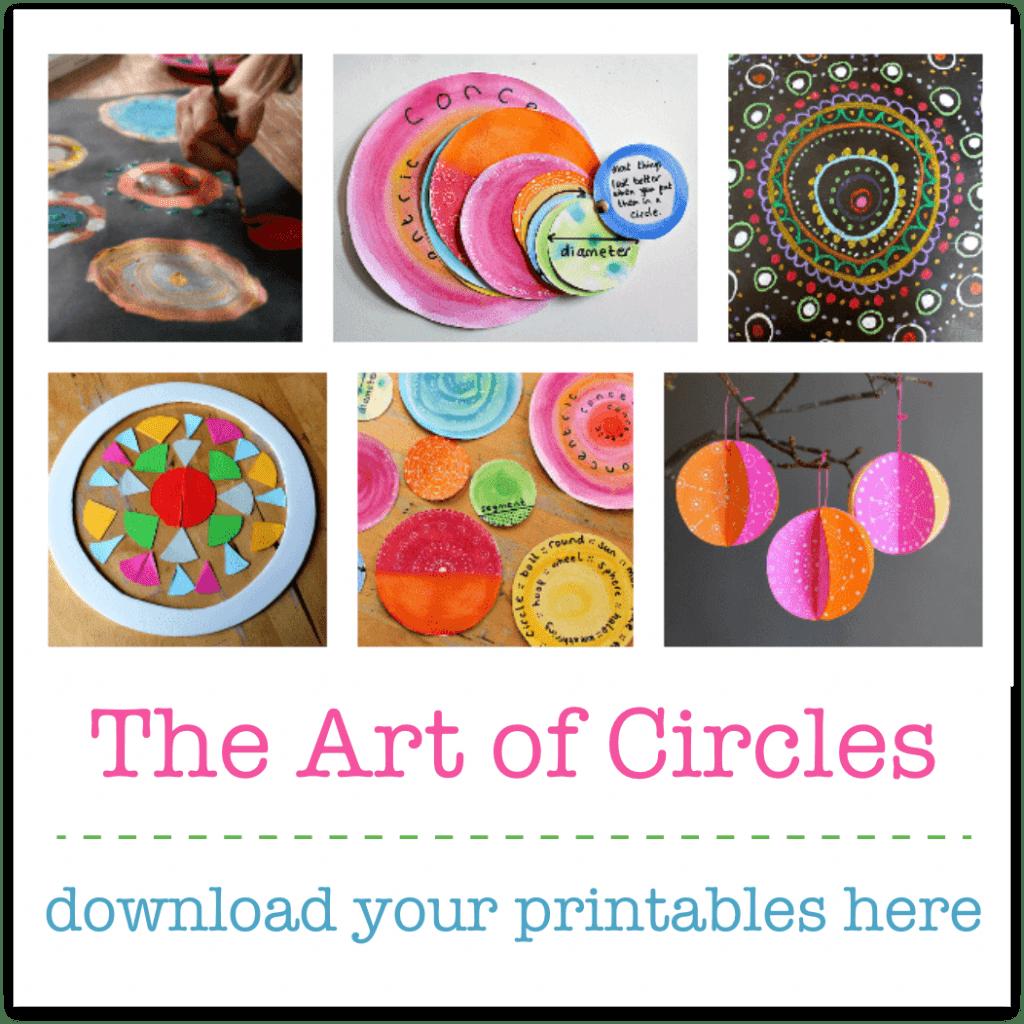 art math steam lesson plans about circles