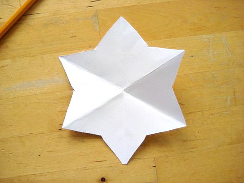 easy star shape template