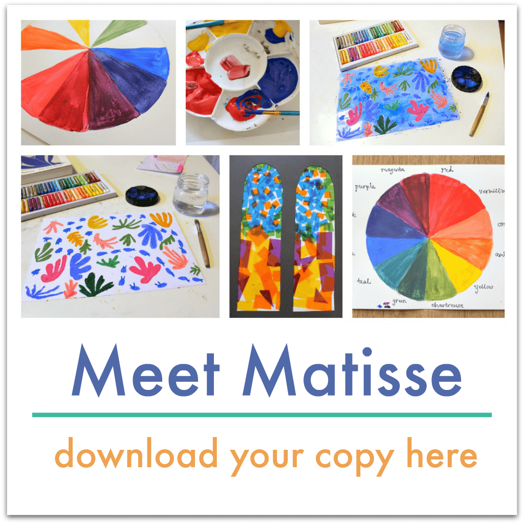 henry matisse art lesson plans