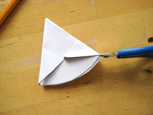 how to fold a six pointed star