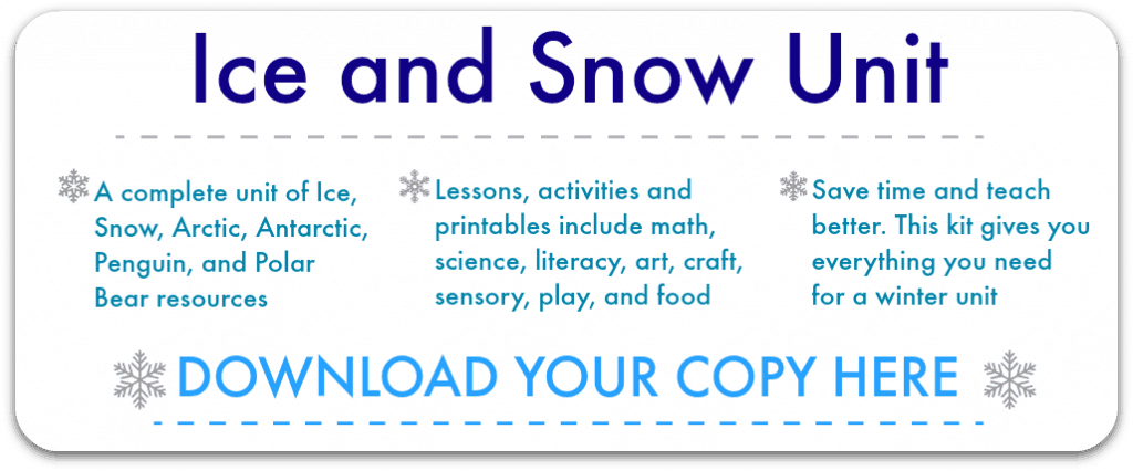 ice and snow lesson plans