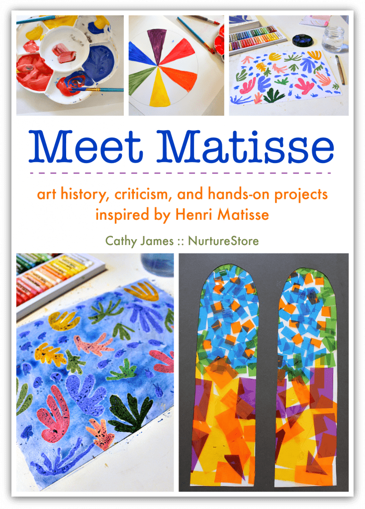 Henri Matisse art lesson for children, Matisse art projects for kids