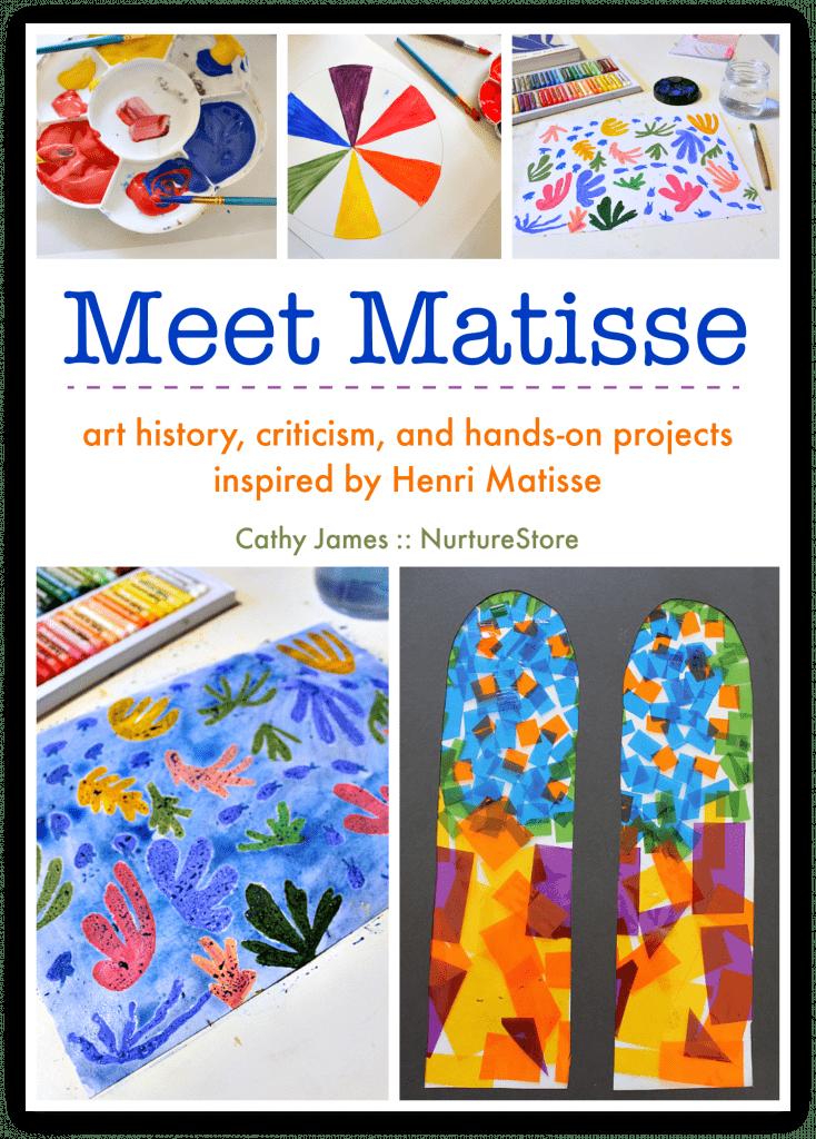 Henri Matisse art lesson for children, Matisse art projects for kids