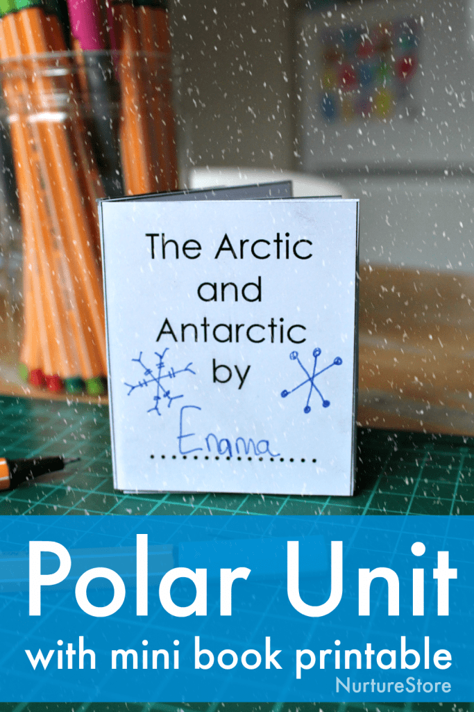 polar unit study with lapbook printables