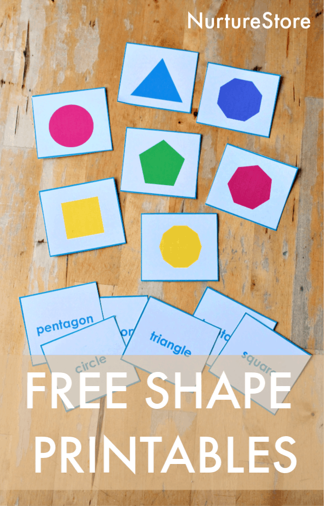shape cards printables free
