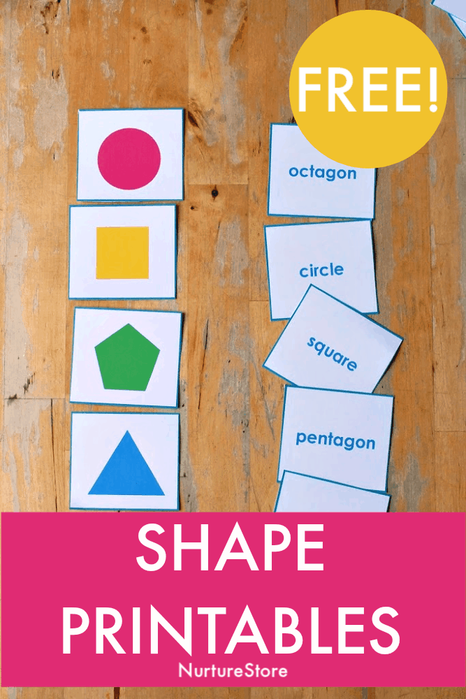 Shape printables free, shape activities for math