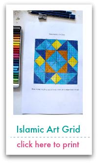 Geometric Art Grid