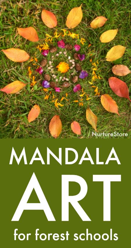Forest School Mandala Activities Nurturestore