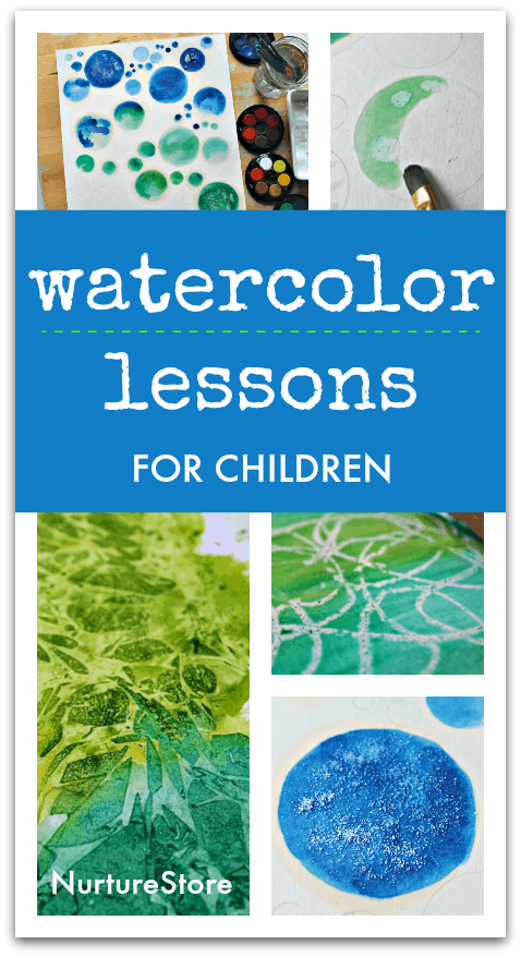 easy watercolour lessons for children