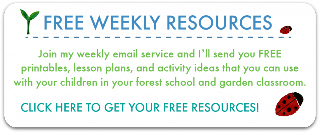 Free forest school activities, outdoor classroom lesson plans and free forest school printables.