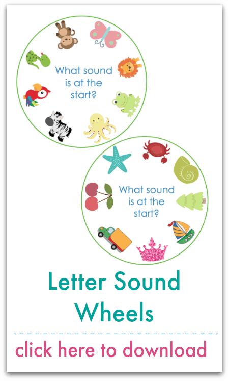 letter sound wheels