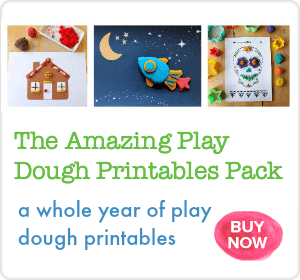 The Amazing Play Dough Printables Pack