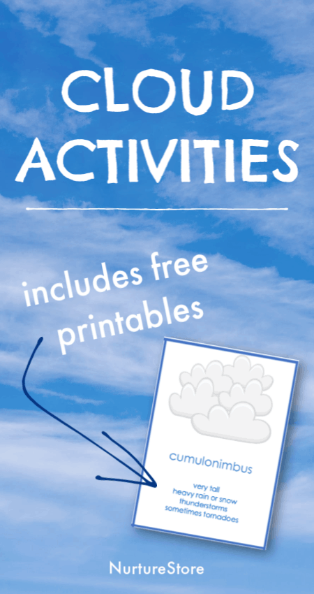 Cloud Activities For Forest School With Printable Cloud Id
