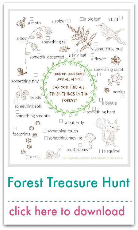 Forest Treasure Hunt