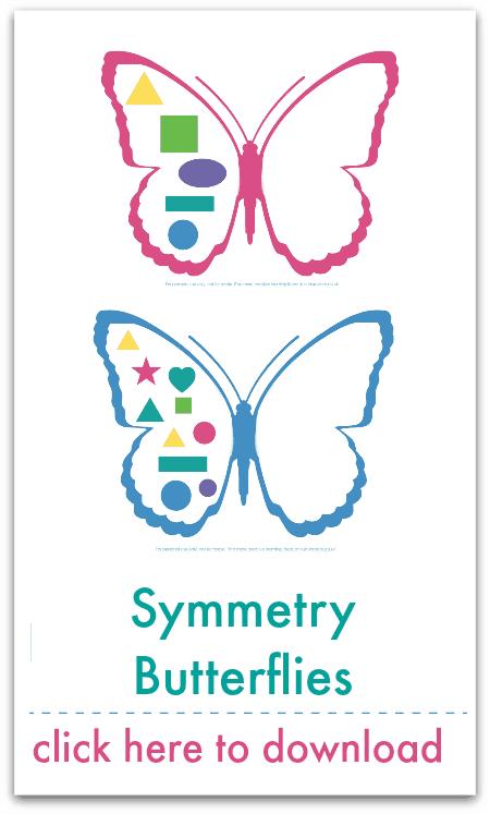 symmetry butterflies