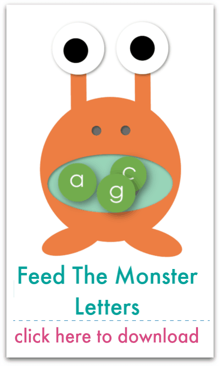 feed the monster letters