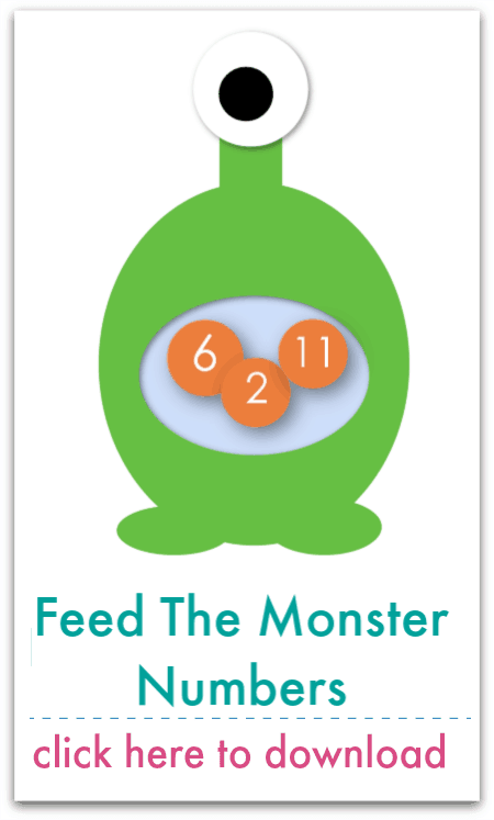 feed the monster numbers