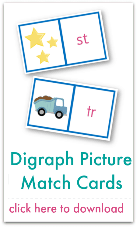 digraph picture match cards