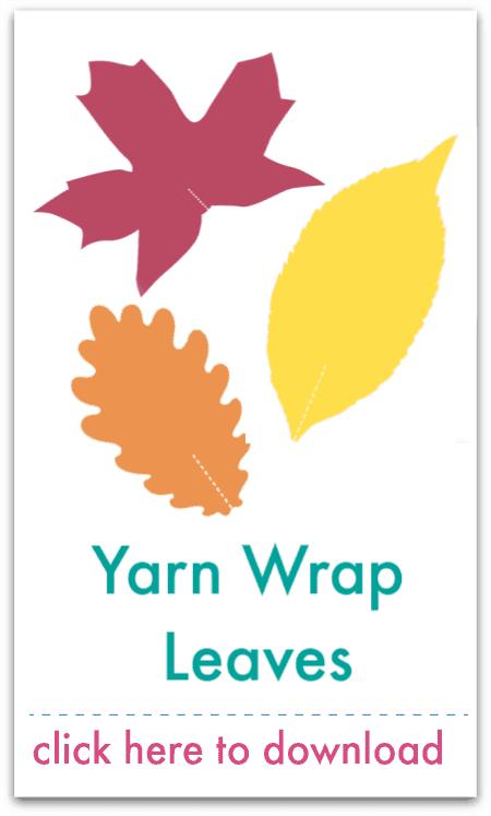 yarn wrap leaves