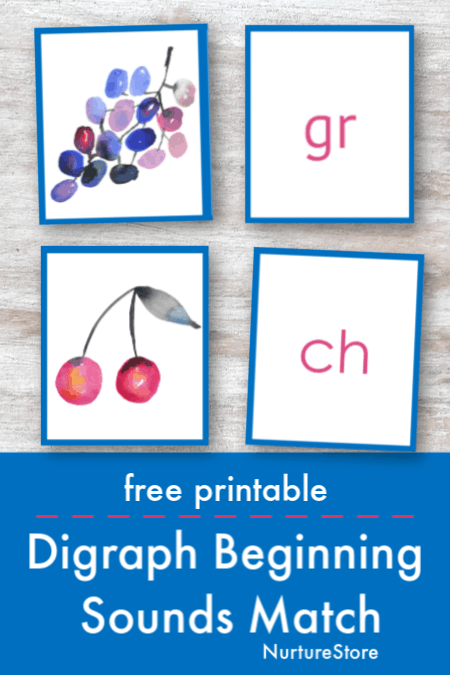 photo regarding Letter Sound Games Printable identify Starting off term seems digraph matching sport printable