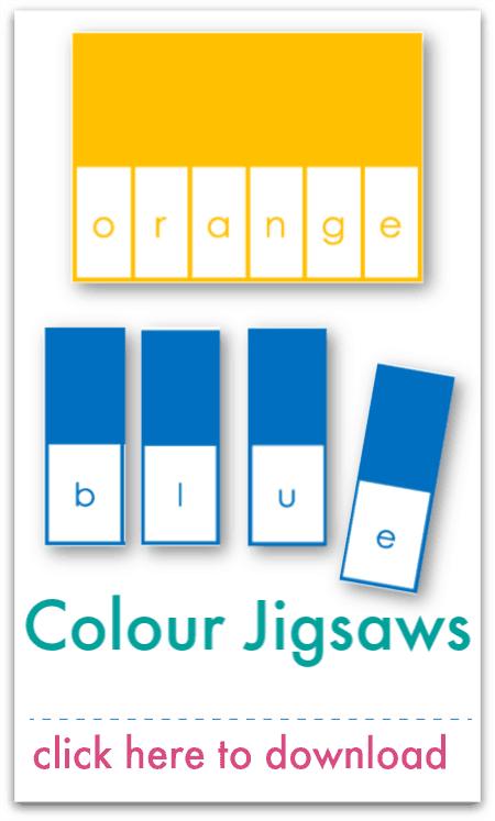 colour jigsaws