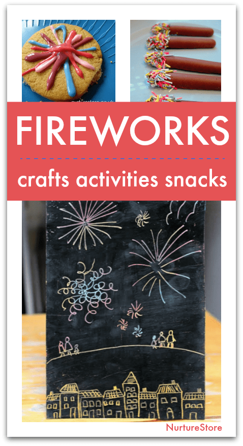 Easy Firework Craft Activities And Snacks For Children To