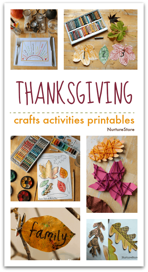 Thanksgiving Crafts Activities And Printables For Children