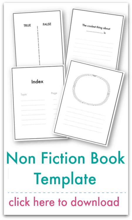 non fiction book template