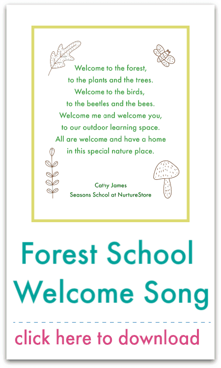 forest school welcome song