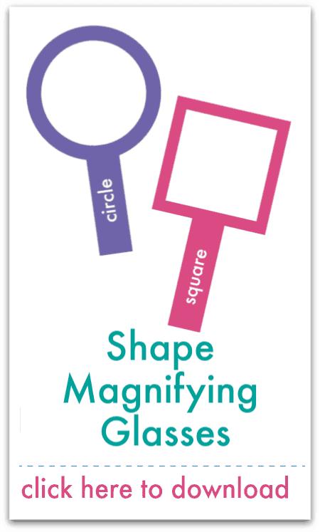shape magnifying glasses