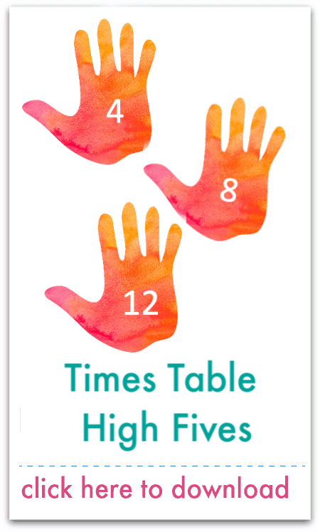 times table high fives