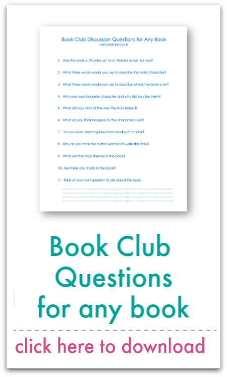 book club questions for any book