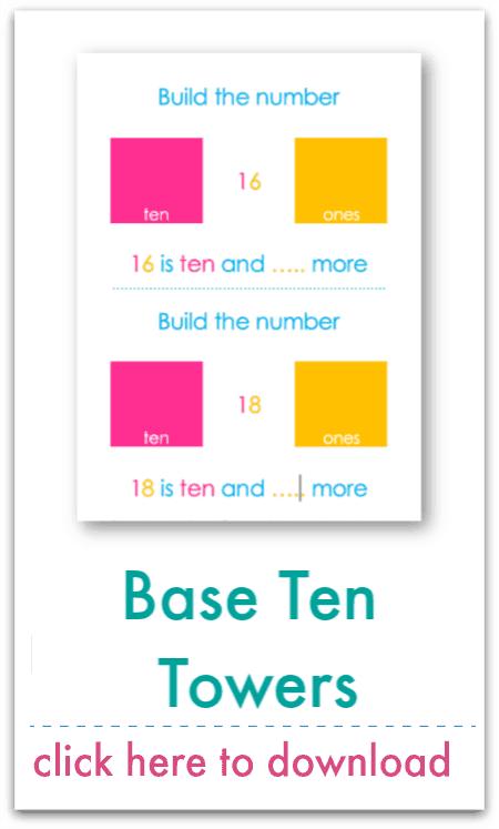 base ten towers